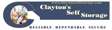 Clayton's Self Storage logo